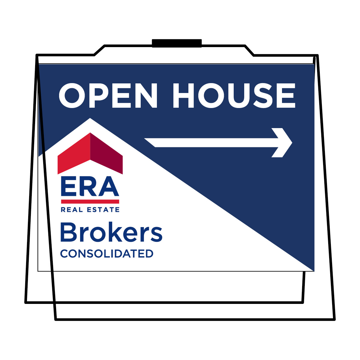Open House Signs and Frames – ERA Brokers Consolidated