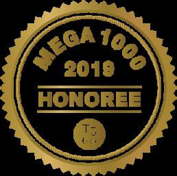 Mega 1000 Honoree 2019